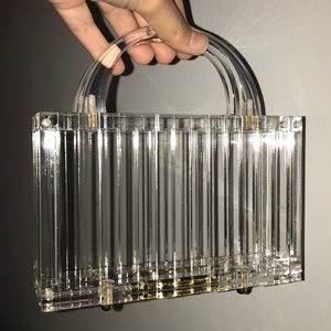 IN STOCK! Lucite Kylie Clutch